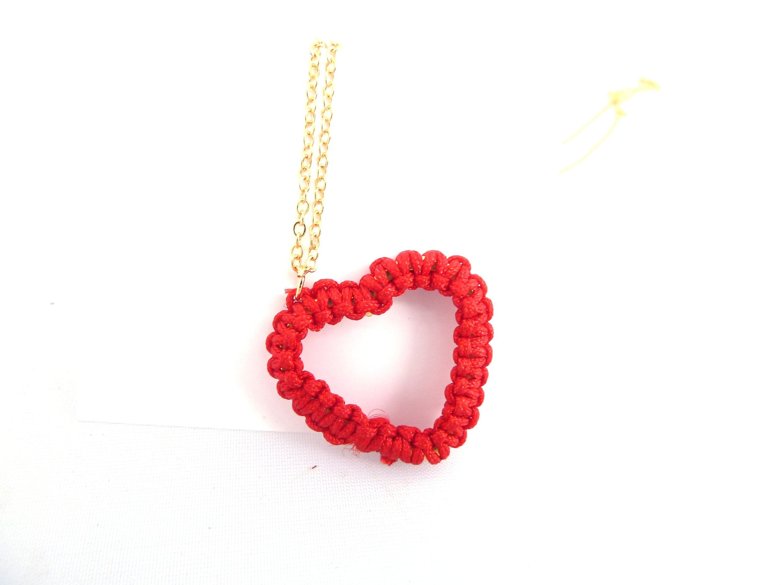 kingdom acrylic product necklace heart nobody red hearts kh